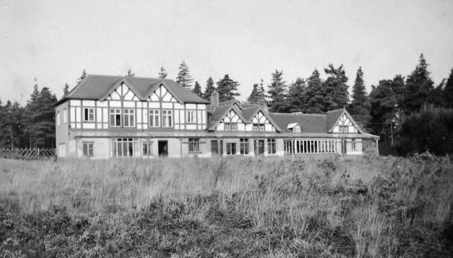 Sherwood Golf Club in the early years