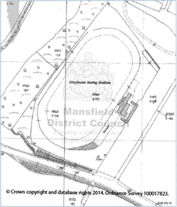The former Greyhound Track off Old Mill Lane | Gavin Campbell Mansfield District Council