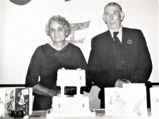 Golden Wedding Anniversary of Annie & John Lenox Fisher 1961 | private family collection