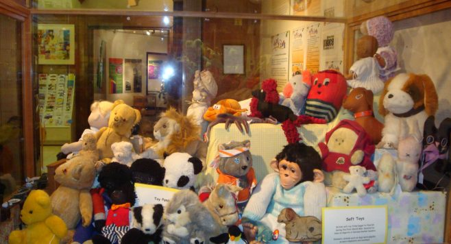 Teddys, Golly's, Jacko Monkey and lots of soft toys, all well loved through the years. | P Marples