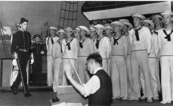 HMS Pinafore, Mr RA Jarvis conducting.