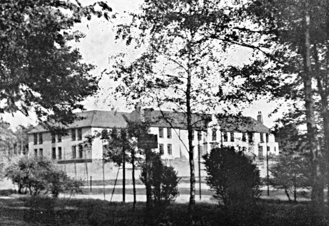 2  Nurses' Home and Tennis Courts