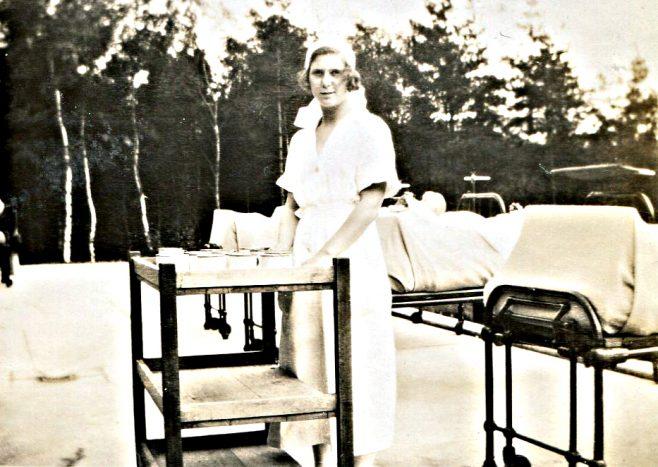 Nurse Reid   Privte Collection