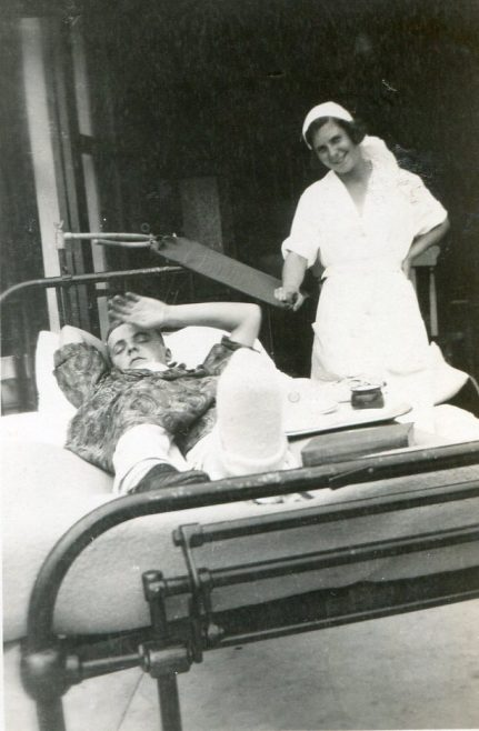 Private Patient John Cooper & Nurse Reid   Prvate Collection