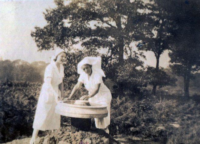 Staff Nurse Smith & Sister ??Small   Private Collection