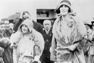 The Duchess of York and Duchess of Portland at the opening of the Hospital 3rd August 1929 | Private Collection