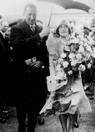 Alan Malkin & Duchess of York 3rd August 1929   HW Collection