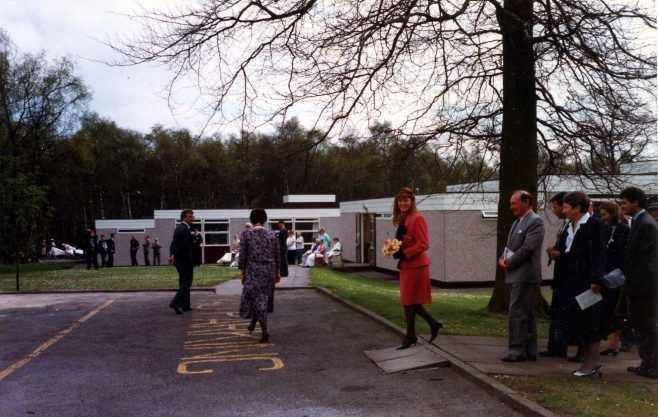HRH The Duchess of York at Harlow Wood for the Diamond Jubilee Celebrations - 2nd May 1989 | rivate Collection