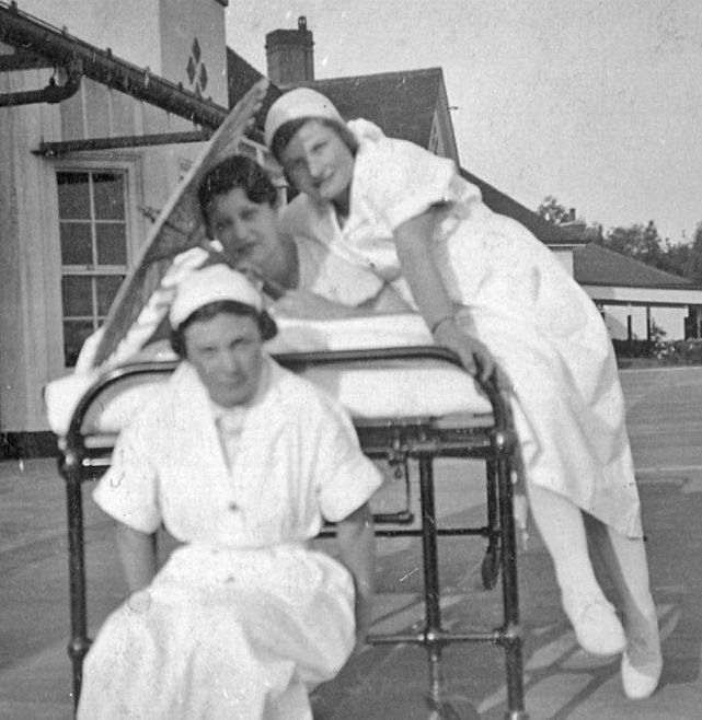 No 26   Marjorie Morley patient in the bed