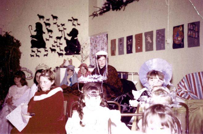 Nativity in colour circa 1969 | Private collection