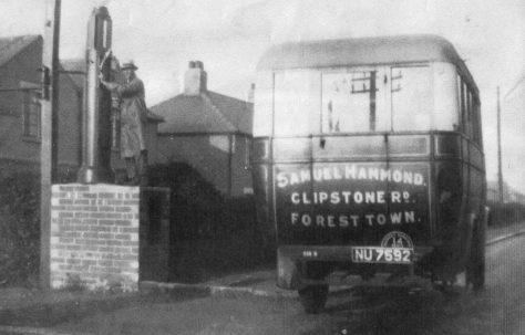 Sammy Hammond's Bus