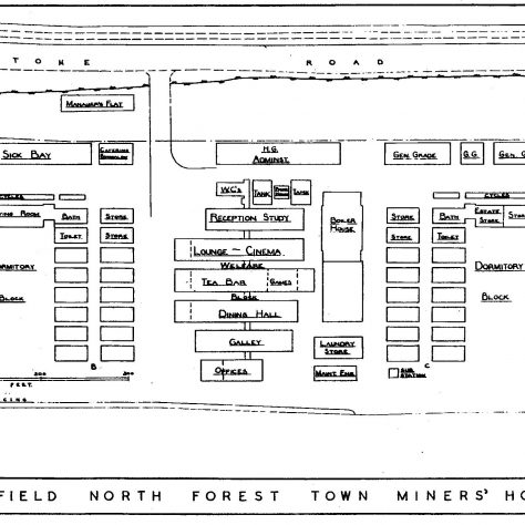 Forest Town Miners Hostel 1944 - 1959