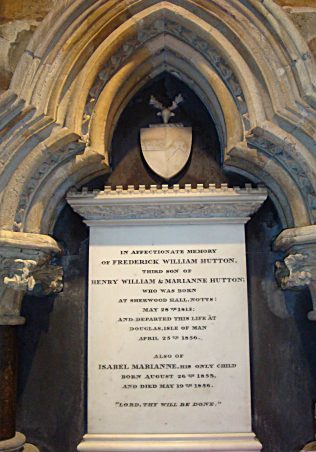Hutton Memorial, Beverley Minster August 2011 | M & P Marples
