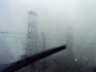 Derelict headstocks - former Clipstone Colliery | David Severn