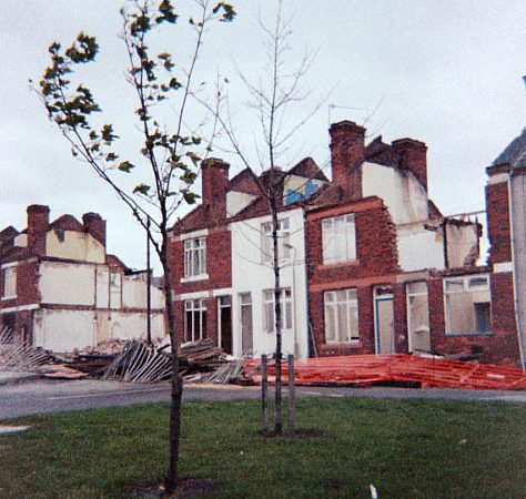 Demolition of Highfield Terrace, 1991 | David Bradbury