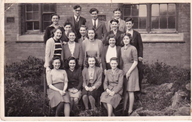 St Edmunds, Mansfield Woodhouse, School Leavers Group 1950