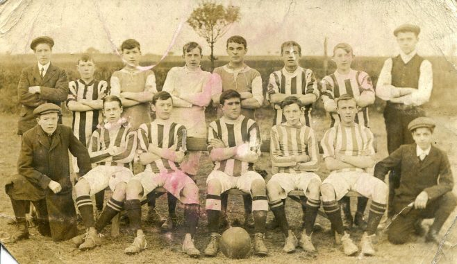 Two Early Football Teams