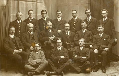 Mansfield Gas Workers In Uniform