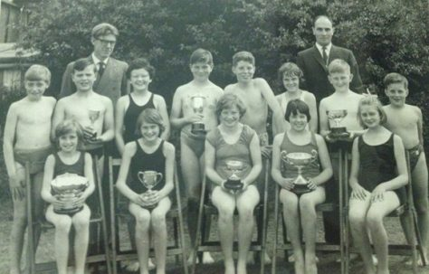 Moor Lane School 1963 Winning teams