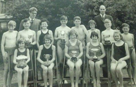 Moor Lane School 1963 Winning teams