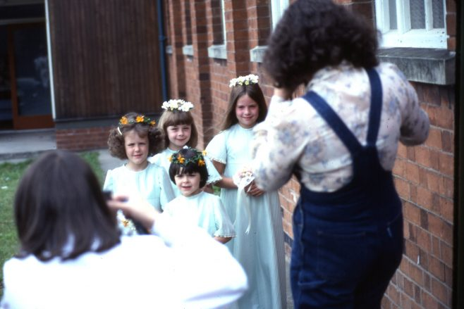 1981 Heathlands mock Royal Wedding | Carolyn Harris - Copyright