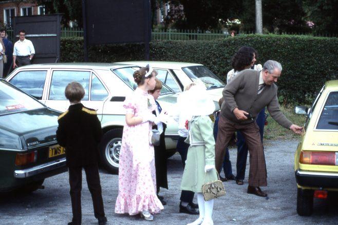 1981 Heathlands mock Royal Wedding   Carolyn Harris - Copyright