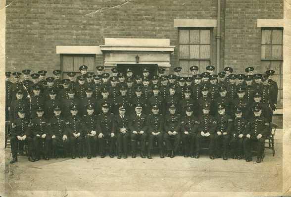 Mansfield Special Constables 1940's