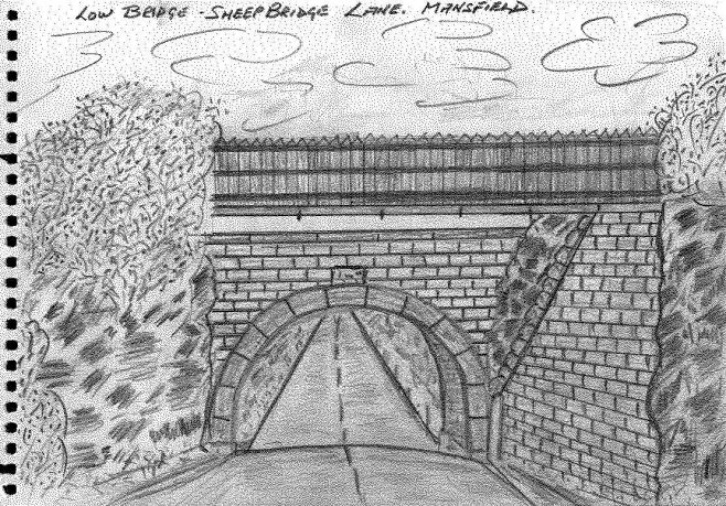 Sketch of Low Bridge