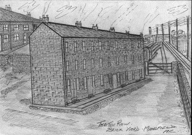 The Ten Row.. Mansfield Brick Yard. | Alan Curtis