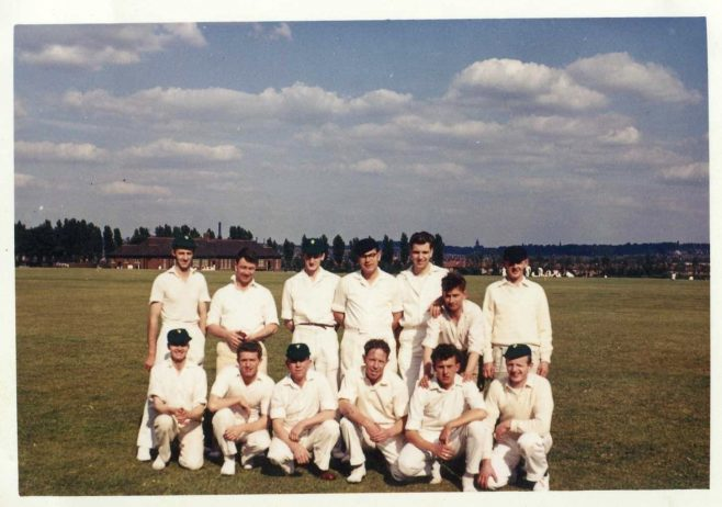 Landers Cricket Team circa 1962