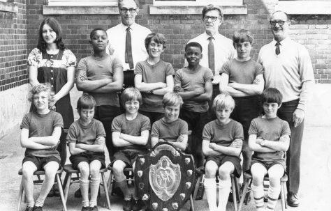 Moor Lane Athletics Team 1972