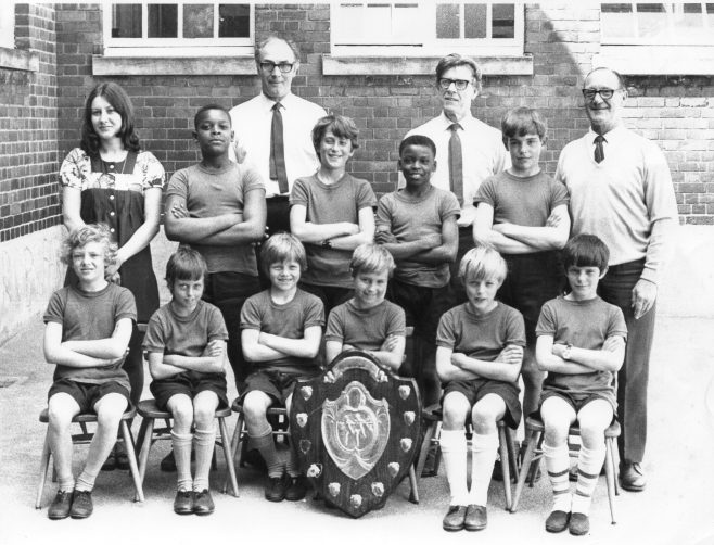 Moor Lane Athletics Team 1972