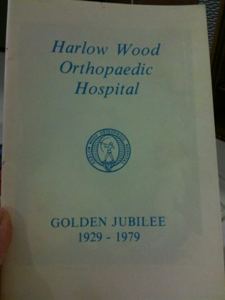 Title page of the jubilee booklet. | Thanks to Soo Davies for lending it to me.