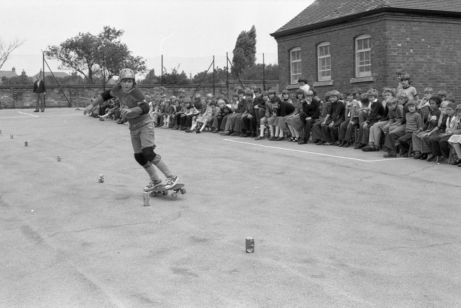 Skate Boarding | CHAD J4620B-08