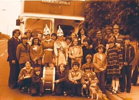 Rainworth Royals leaving for the World Champonships 1979 | Chad J4109Ab