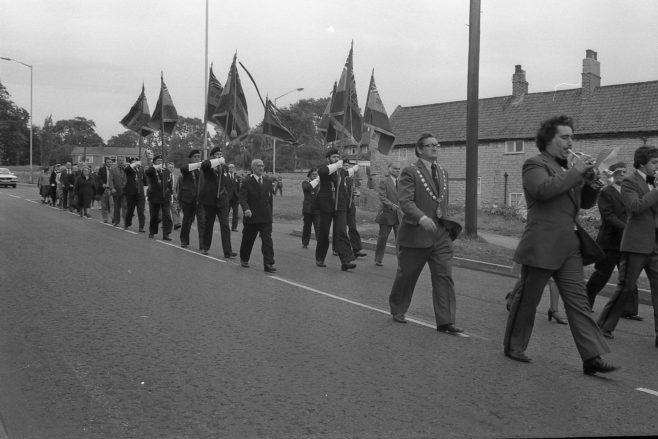 Warsop British Legion Flag Dedication 1979 | CHAD J5132X 7