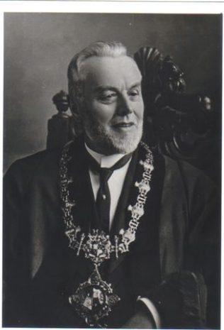 John Crampton, Mayor of Mansfield 1902