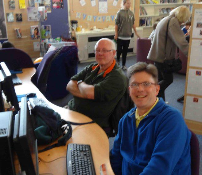 Enjoying the computers