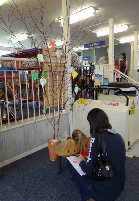 Adding information to the book tree