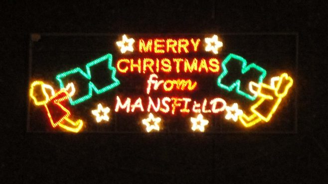 Mansfield Christmas Lights 2011