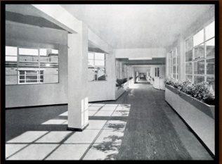 Maternity ward corridor following renovations. | kmh