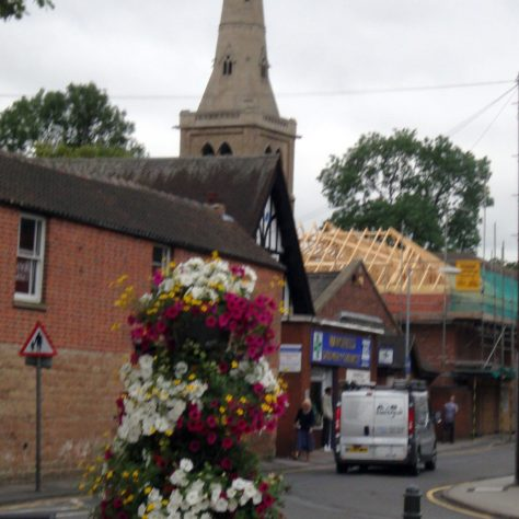 7 July 2010 Looking up Wood Street | P Marples