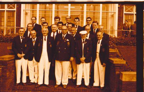 Mansfield Bowls Team 1968