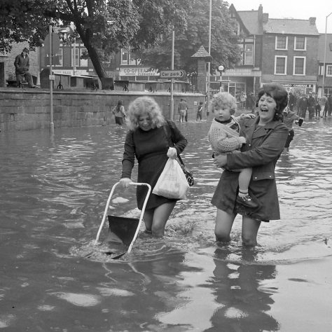 Bridge Street - July 1973 | Mansfield Chad