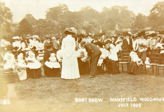 Baby Show, Mansfield Woodhouse 1909