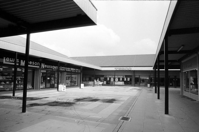 Oak Tree Lane Shops 1981 | Mansfield Chad