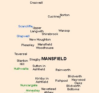 Mansfield's Victorian Postal District