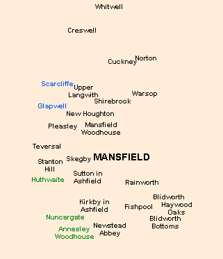Mansfield Postal District in Victorian Times | Malcolm Marples