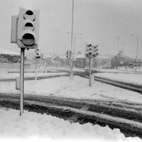 Mansfield in the snow - December 1990 | Mansfield Chad