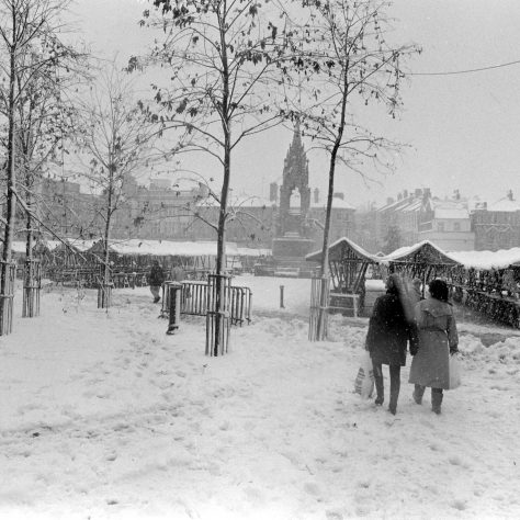 Mansfield in the snow 1990 | Mansfield Chad